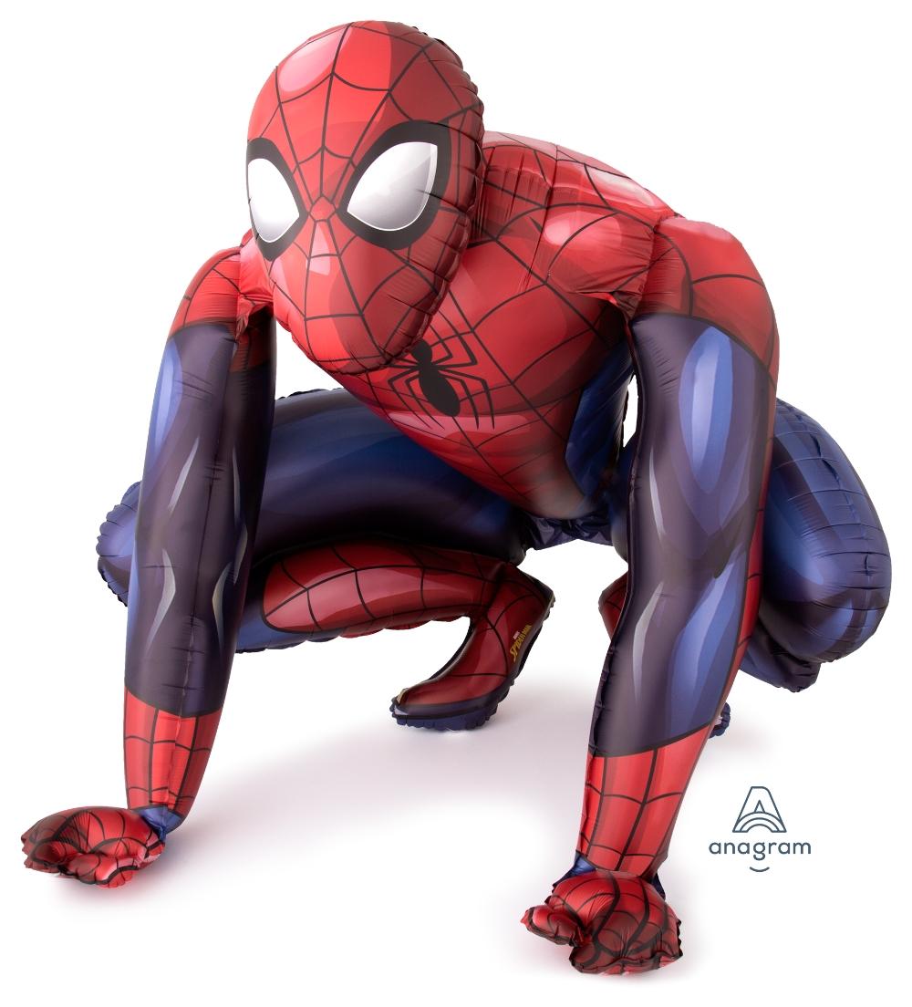 Ходячая фигура Человек Паук - ходячий шар в виде фигуры Человека-паука