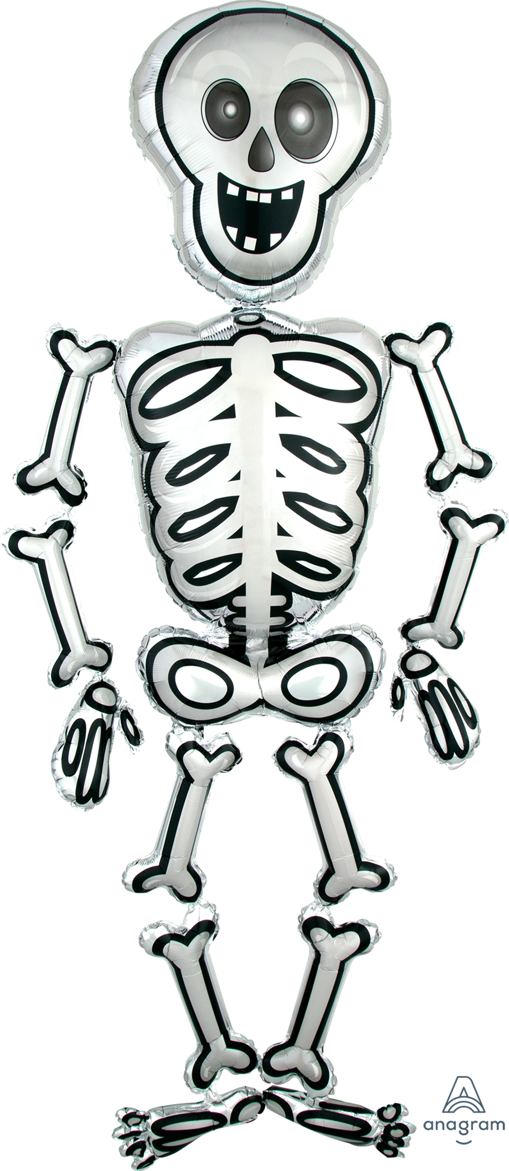 "Ходячий шар ""Скелет"" на Хеллоуин"