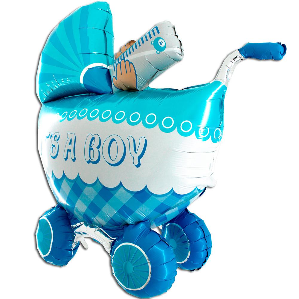 Шар Фигура, Детская коляска для мальчика 3D.