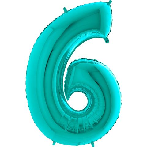 Цифра 6 тиффани