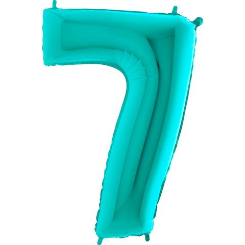 Цифра 7 тиффани