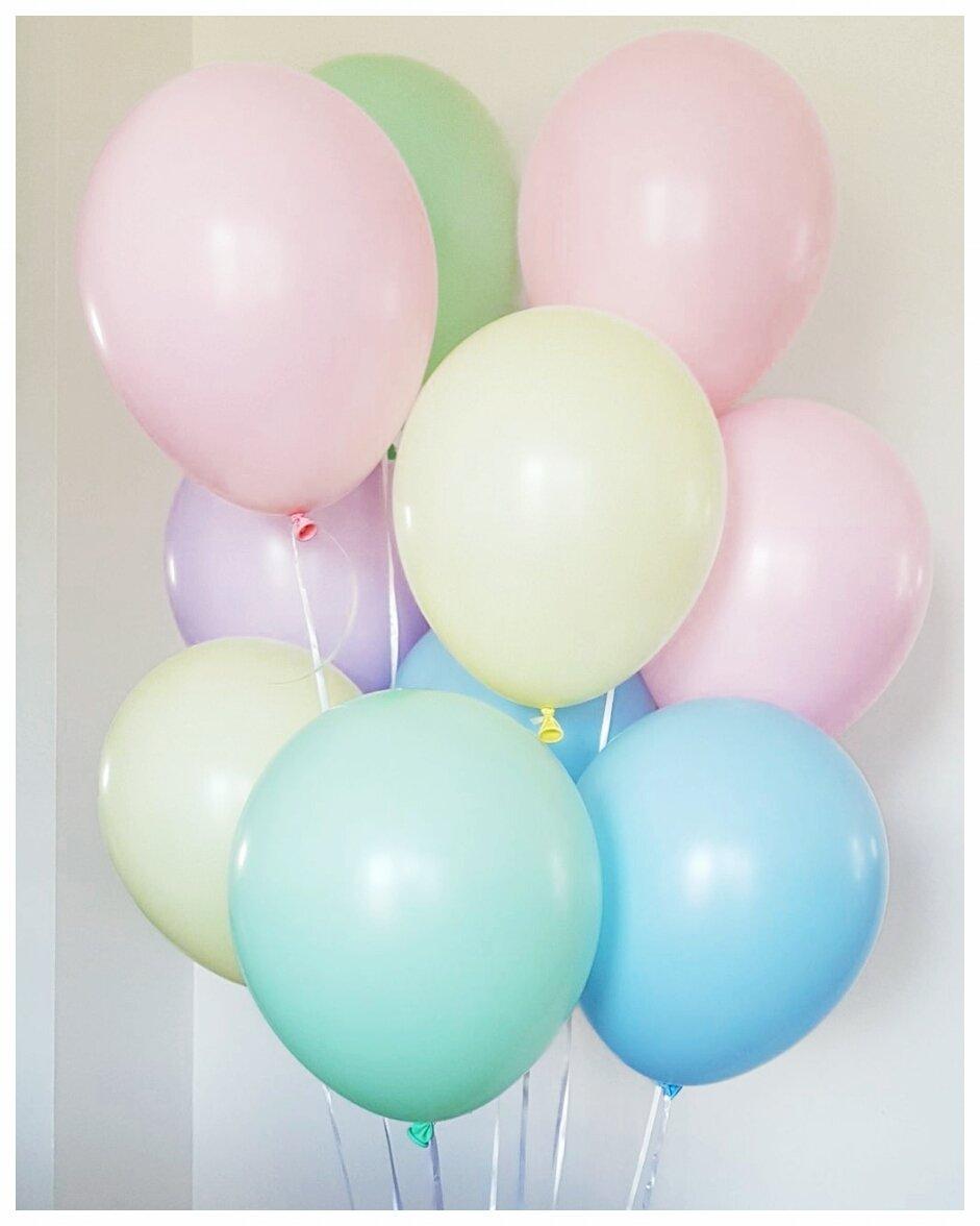 Гелиевые шары Ассорти макарунс