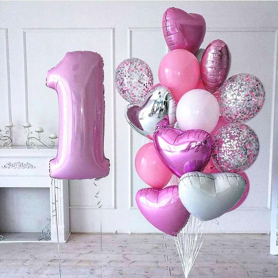Нежная композиция на день рождения девочки