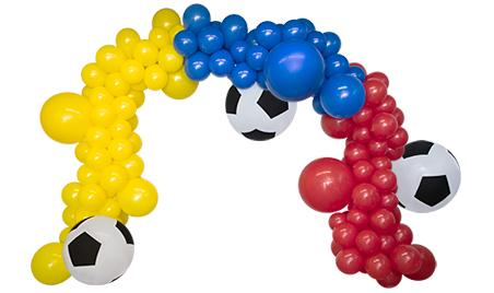 Арка из шаров Для юного футболиста