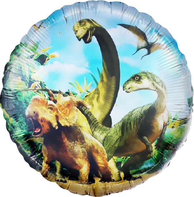 Шар Круг, Динозавры Юрского периода