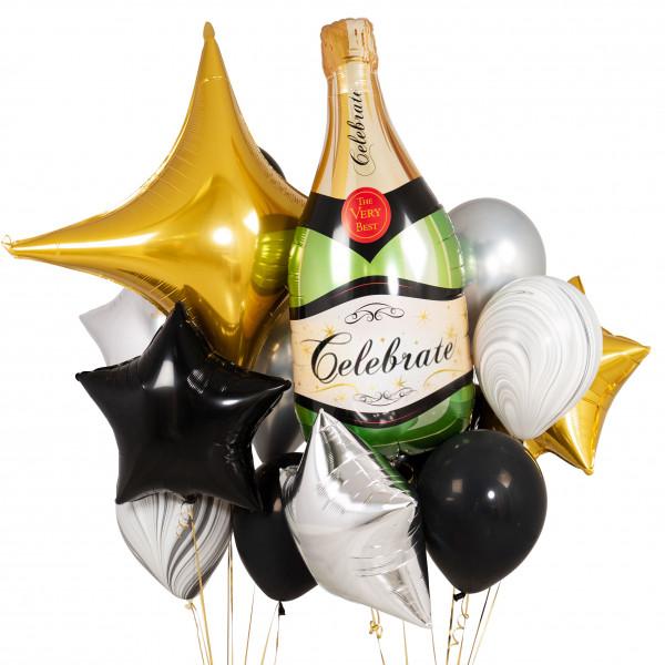 Композиция «Бутылка шампанского»