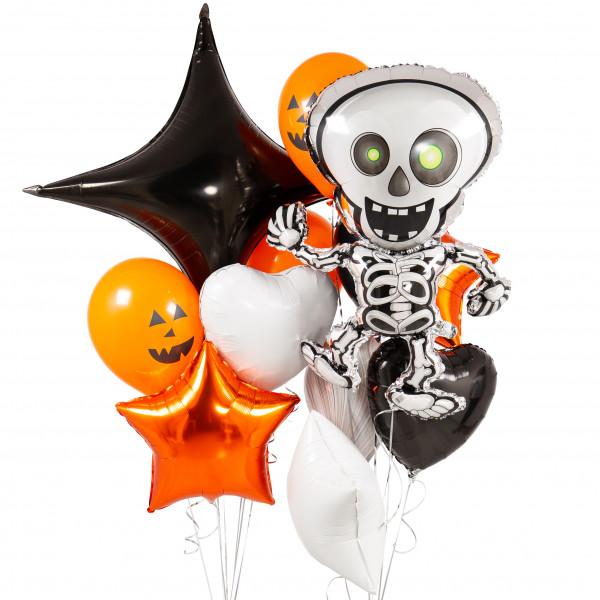 Композиция «Веселый скелет»