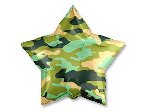 Камуфляж зеленый звезда на 23