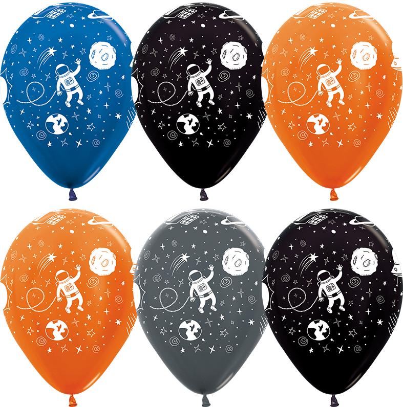 Гелиевые шары  Космические приключения