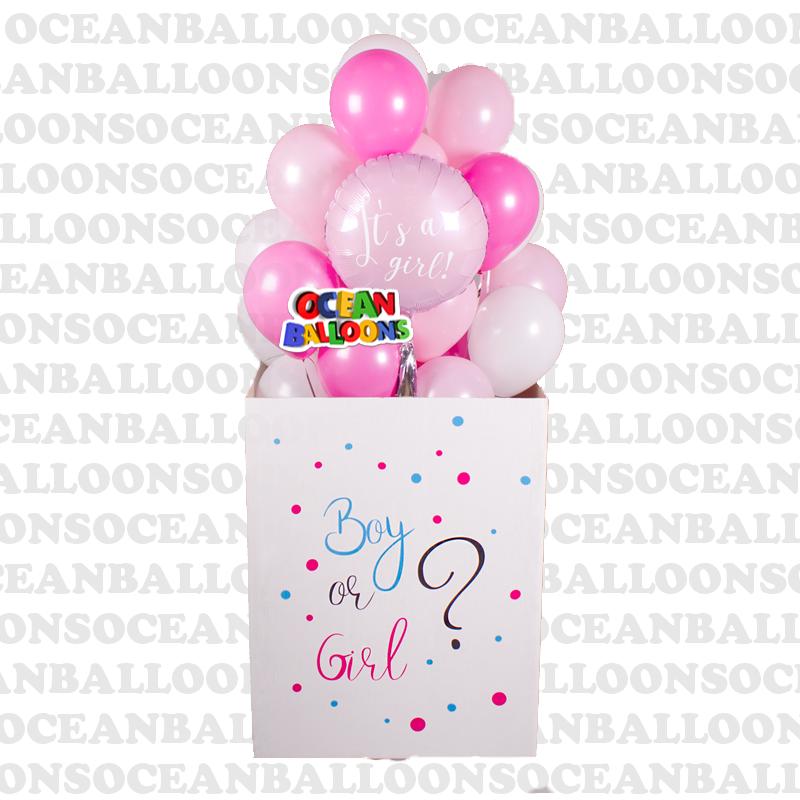 Коробка с шарами Это девочка
