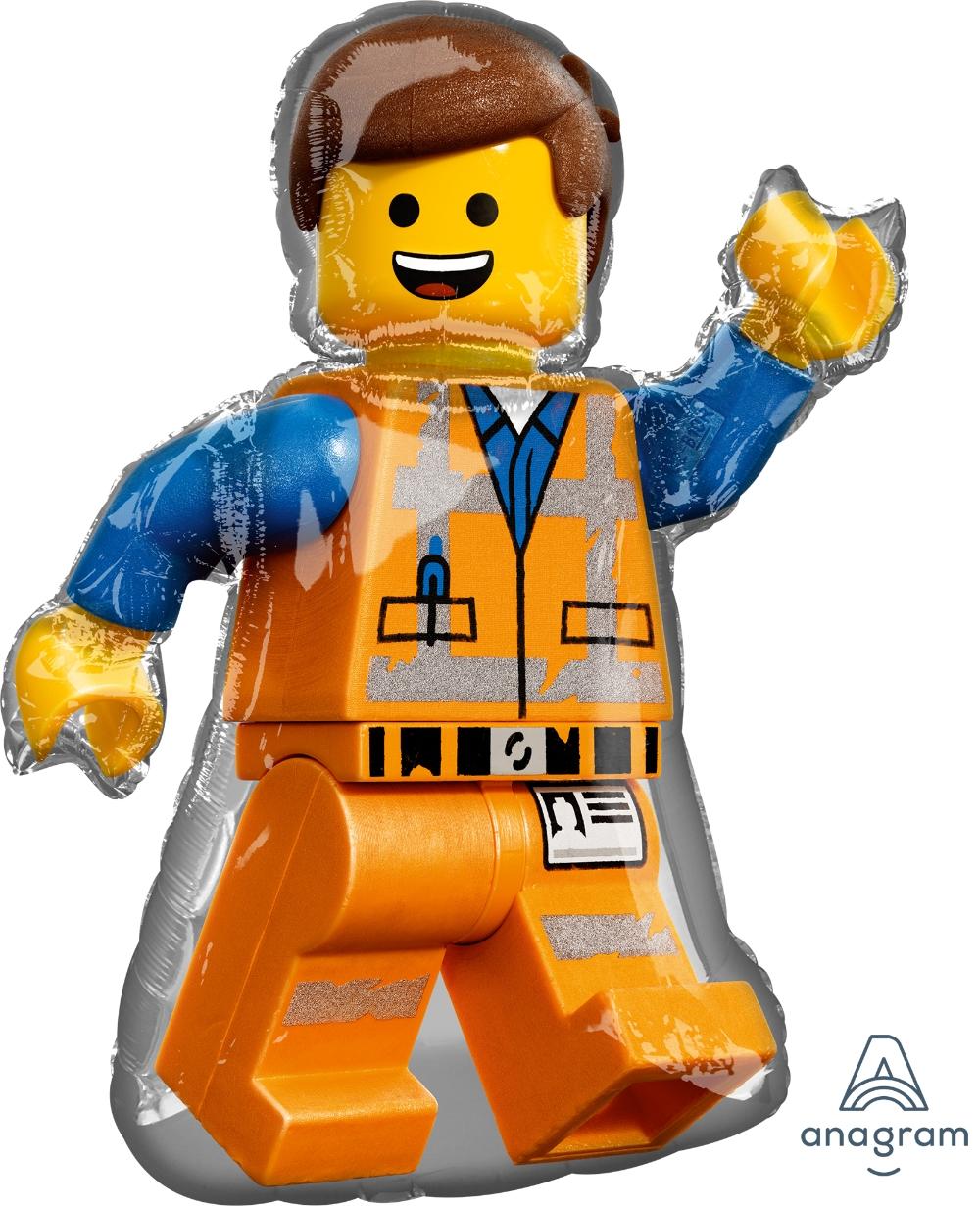 Гелиевый шар Лего Человечек Эммет
