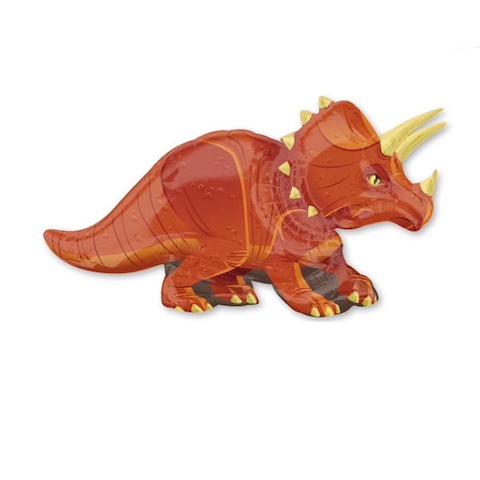 Гелиевый шар Динозавр Трицератопс