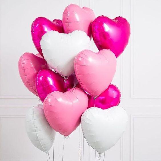 Облако «Клубника со сливками» из 10 сердец