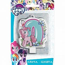 Свеча цифра 0 My Little Pony