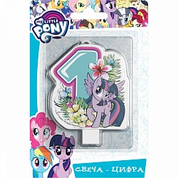 Свеча цифра 1 My Little Pony