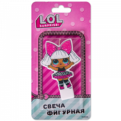 Свеча фигурная Кукла ЛОЛ (LOL)