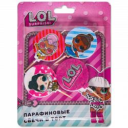 Свечи Кукла ЛОЛ (LOL)