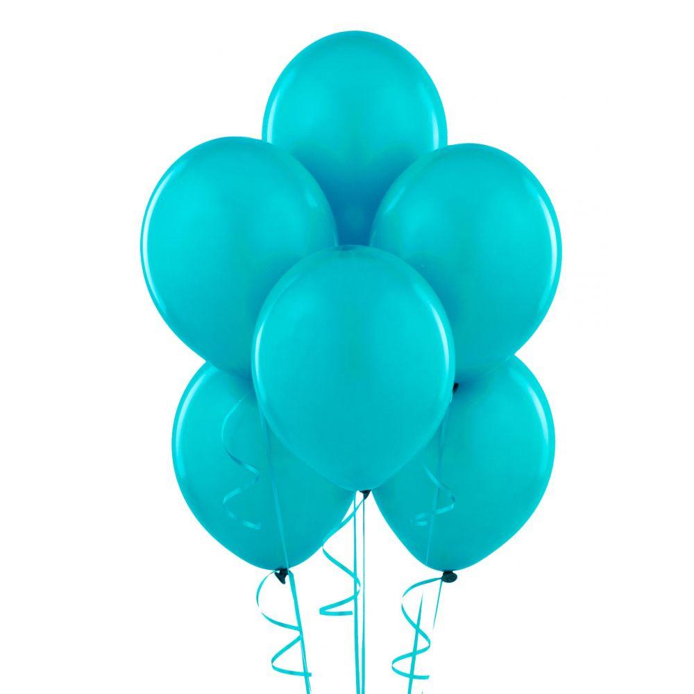 Гелиевый шарик Бирюзовый