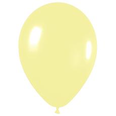 Шар Макарунс, Светло-желтый пастель.