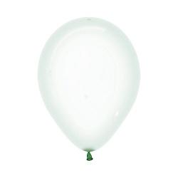 Шар Макарунс, Хрустально-зеленый кристалл.