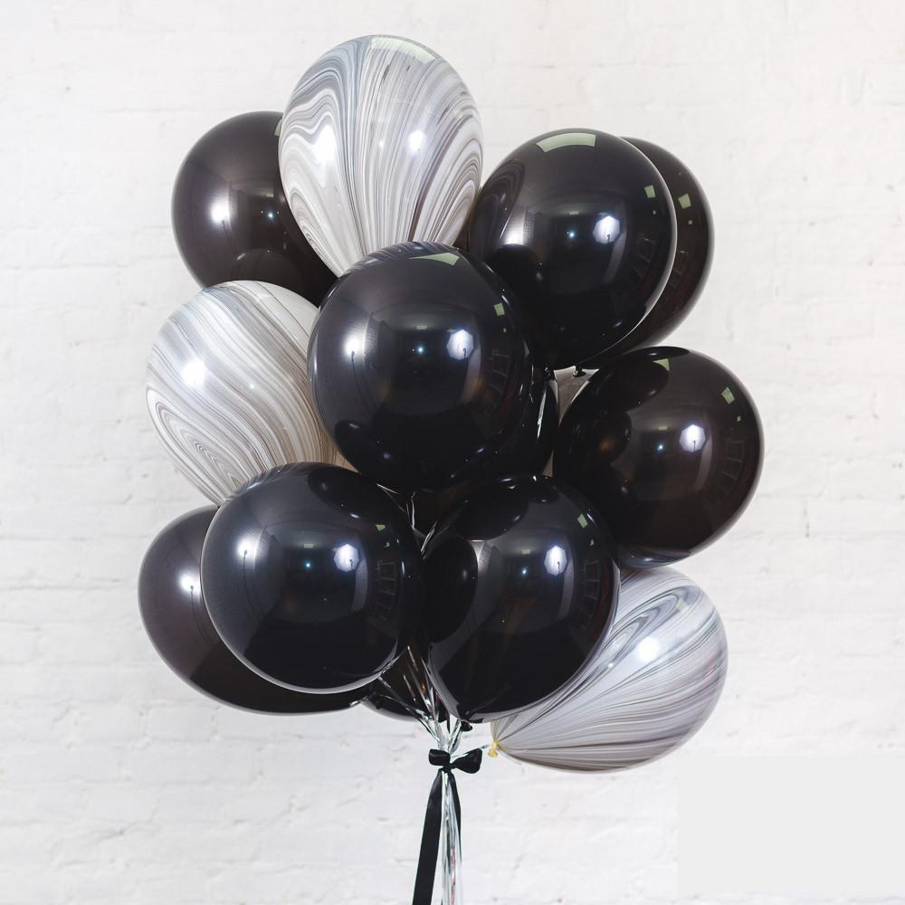 Облако «Черный агат» из 20 шариков