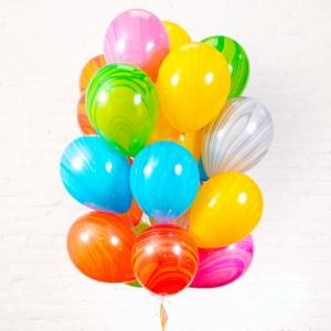 Облако разноцветных шариков Агат
