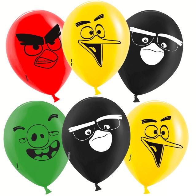 Гелиевые шары Angry Birds, Ассорти