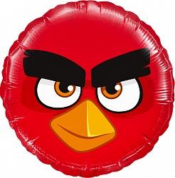 Шар Круг, Angry Birds, Красный
