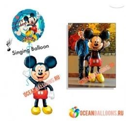 Воздушный шар «Поющий Микки»