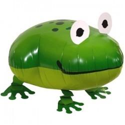 Ходячая фольгированная Фигура Лягушка