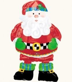 Шар новогодний «Санта в сапогах»