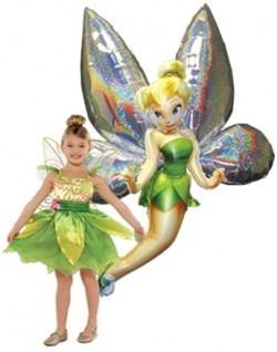 Фольгированный шар фея Tinker Bel