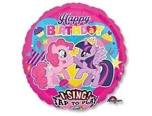 Музыкальный фольгированный шарик My Little Pony