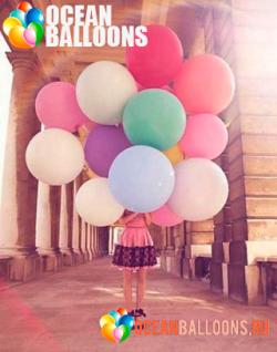 Гигантские большие шары на свадьбу