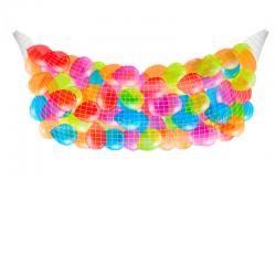 Сброс 100 воздушных шаров на выпускной