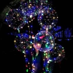 Светящиеся шары Bubble со светодиодной лентой