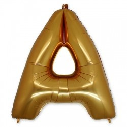 Фольгированный шар «Буква A»