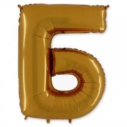 Фольгированный шар «Буква Б»