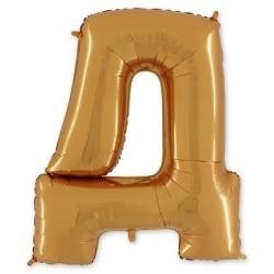 Фольгированный шар «Буква Д»