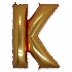 Фольгированный шар «Буква К»