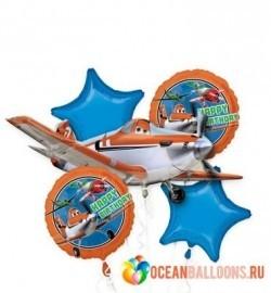 Букет из шариков «Самолеты»