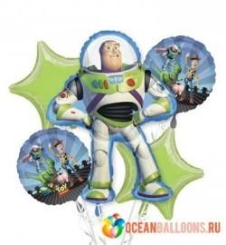Букет из шаров «Истории игрушек»