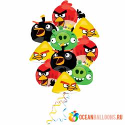 Букет из шаров «Angry Birds 2»