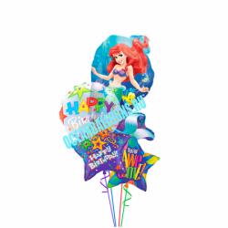 Букет из воздушных шариков «Красавица Русалочка»