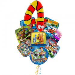 Букет воздушных шаров на День Рождения «Детский праздник»