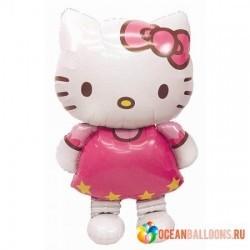 Ходячая фигура из шаров Hello Kitty