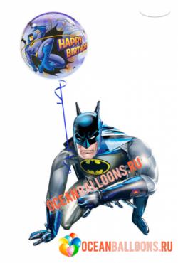 Ходячий шар «Запоминающееся поздравление от Бэтмена»