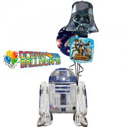 Ходячий воздушный шар «R2D2 спешит поздравить»