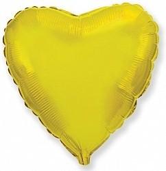 Фольгированный Сердце, Золото