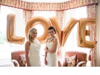 Фольгированные шары буквы «LOVE»